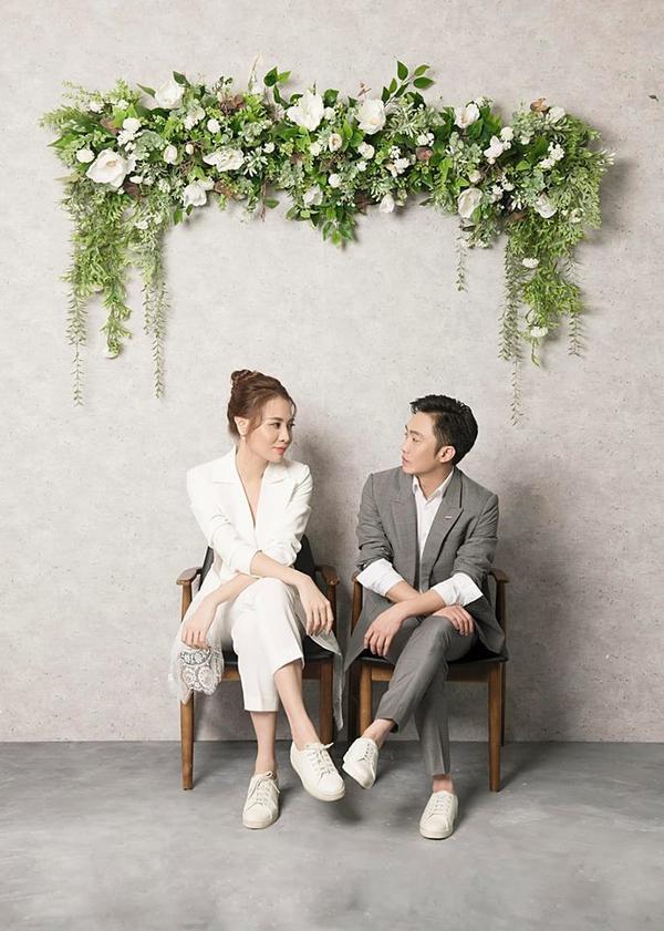 Đàm Thu Trang hé lộ ảnh cưới tuyệt đẹp, nhiều người thầm kêu lên rằng đích thị là nữ thần ảnh 1