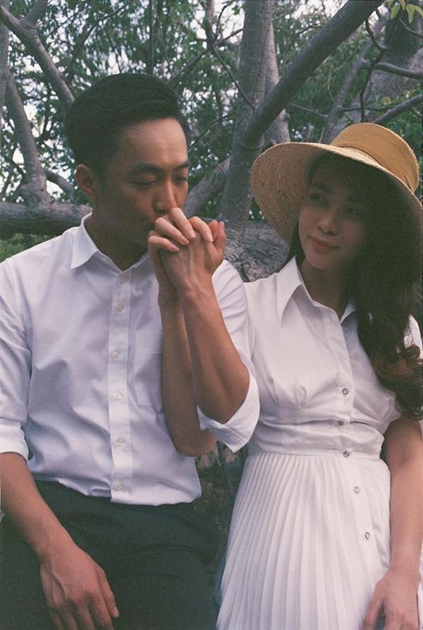 Đàm Thu Trang hé lộ ảnh cưới tuyệt đẹp, nhiều người thầm kêu lên rằng đích thị là nữ thần ảnh 2