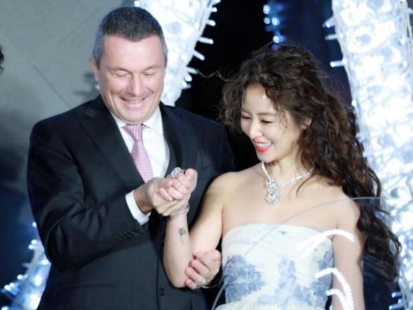 Lâm Tâm Như vướng tin đồn từng có một đời chồng trước khi đến với Hoắc Kiến Hoa.