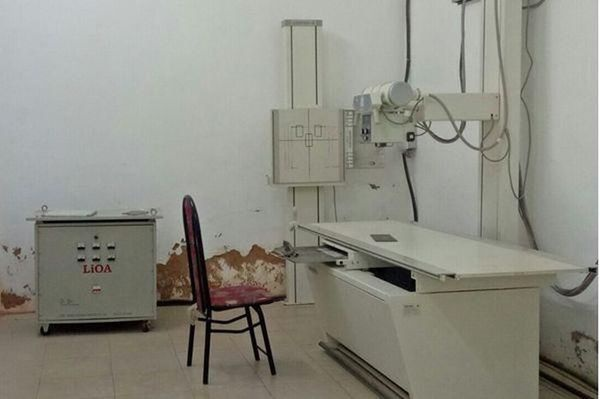 Phòng chụp X-quang nơi thu được 3 mẫu tinh trùng. Ảnh: báo VOV.