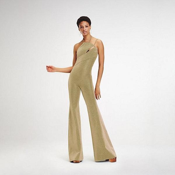 Jumpsuit đến từ thương hiệu Tommy Hilfiger với chất liệu sequin lấp lánh