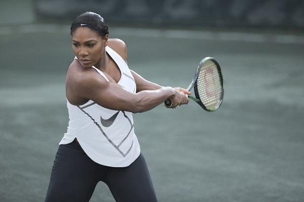 Serena Williams, nữ tuyển thủ tennis da màu, đồng thời là gương mặt đại diện của Nike trong suốt nhiều năm qua.