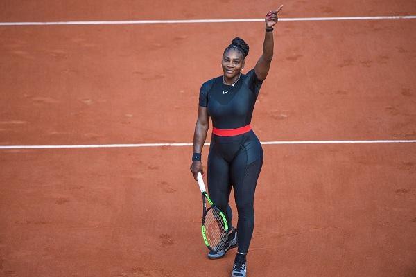 Serena đã chứng minh rằng, mặc catsuit không chỉ trông đẹp mắt, thuận tiện cho việc cử động.
