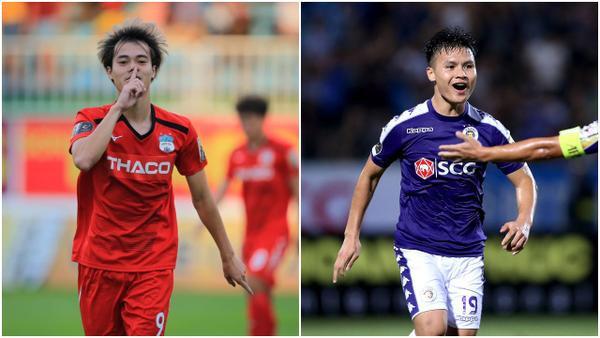Văn Toàn sẽ có cuộc đối đầu với Quang Hải ở vòng 12 V.League