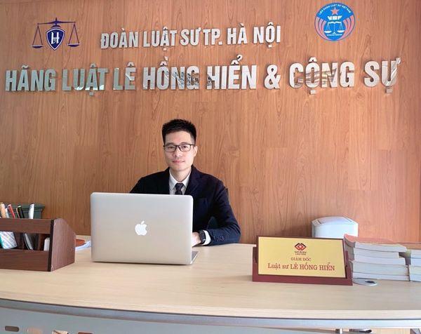Luật sư Lê Hồng Hiển.