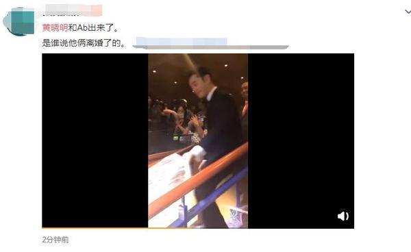 Đập tan tin đồn ly hôn, Huỳnh Hiểu Minh xuất hiện cùng Angelababy, chu đáo nâng váy giúp vợ ảnh 4