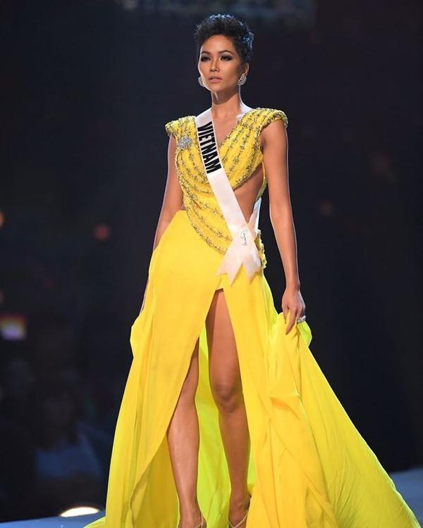 Thành tích xuất sắc của H'hen Nie tại Miss Universe 2018