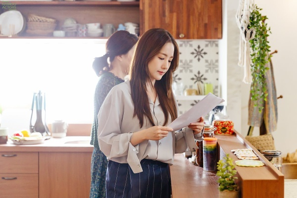 [K-Drama]: Park Min Young's behind-the-scenes photos in the last episode 'Her Private Life'