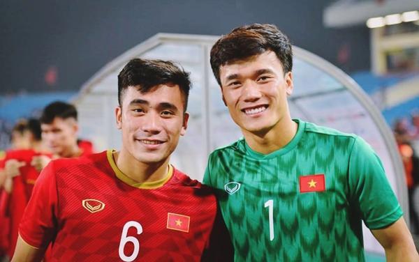 Bùi Tiến Dũng lần đầu làm đội trưởng U23 Việt Nam.