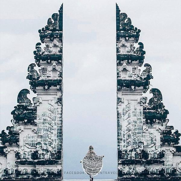 Xuất hiện cổng trời Bali ở Đà Lạt khiến dân tình tranh cãi: Đà Lạt đang dần mất chất hay đẹp lên từng ngày? ảnh 1
