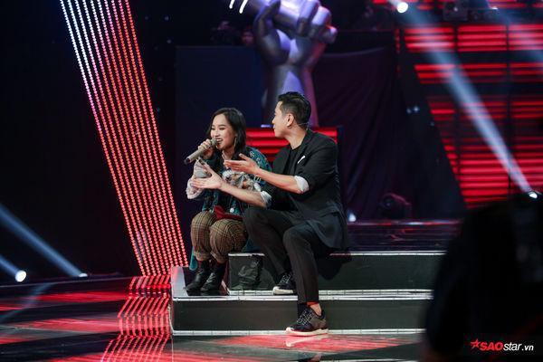 Không ngại để HLV thử thách mình hát tiếng Việt, Bỏa Trân cho thấy bản lĩnh đáng nể của mình