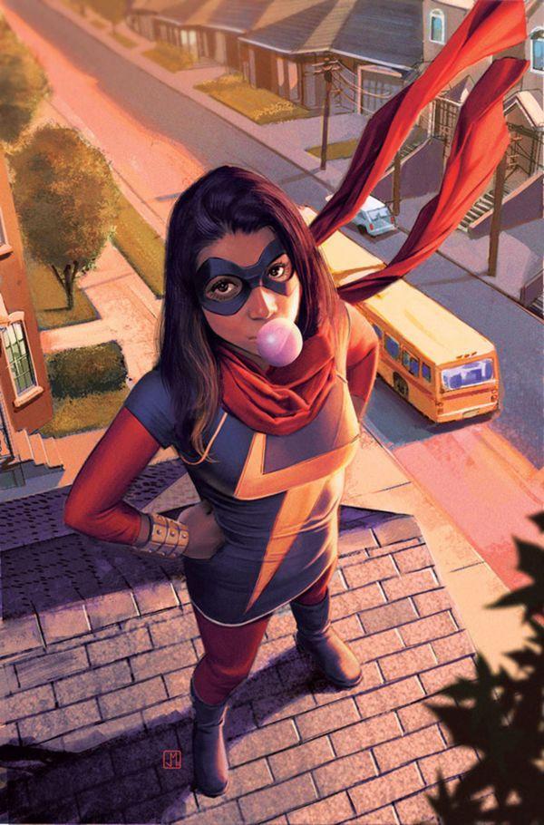 Marvel hiện vẫn đang lên ý tưởng để xây dựng hình tượng nhân vật siêu anh hùng nhí.