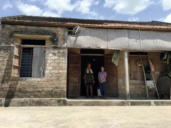 Gia cảnh khó khăn của thí sinh Ngô Thị Lài. Ảnh: Người đưa tin.