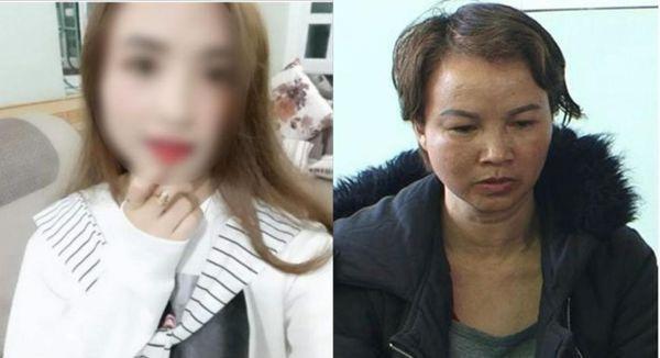 Bà Hiền vẫn ngoan cố, khai báo nhỏ giọt với cơ quan điều tra - Ảnh: Bà Hiền lúc vừa bị bắt.