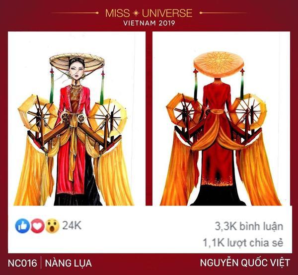 Một thiết kế khác của Nguyễn Quốc Việt cũng lọt Top 10 bài thi có lượng tương tác mạng xã hội cao nhất.