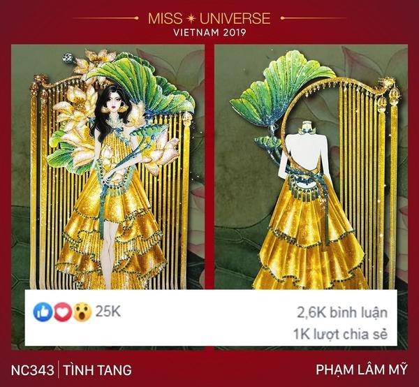 """Bên cạnh """"Ngọc phương Đông"""", Phạm Lâm Mỹ còn có """"Tình tang"""" ấn tượng không kém."""
