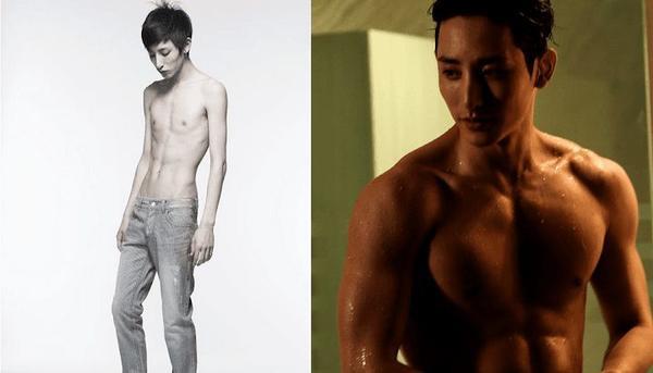 8 nam nghệ sĩ Hàn Quốc từ thân hình cò hương trở thành body 6 múi vạn người mê sau khi debut ảnh 0