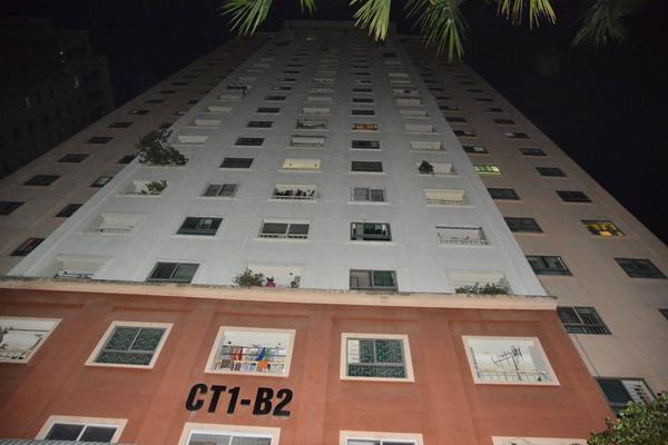 Tòa nhà xảy ra vụ việc.
