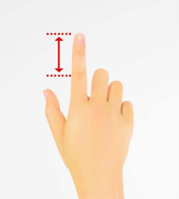 Ngón trỏ đạt chuẩn: Ngón tay trỏ đạt chuẩn là các đốt ngón tay bằng nhau, đầu ngón trỏ tròn và đầy đặn. Bạn thường nghĩ về mọi thứ xung quanh mình, là người có tham vọng và quyết tâm đạt được mục tiêu một khi đã đặt ra. Việc bạn cần làm là tiếp tục phát huy sự chăm chỉ, năng nổ của mình, có như vậy thì mọi nỗ lực đều sẽ được đền đáp xứng đáng.