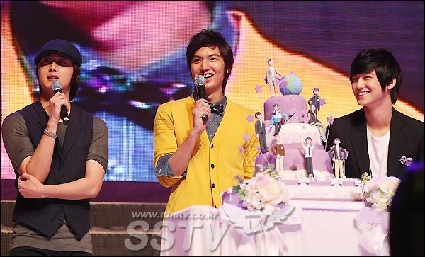 Jung Il Woo, Kim Bum tụ họp tại tiệc sinh nhật của Lee Min Ho.