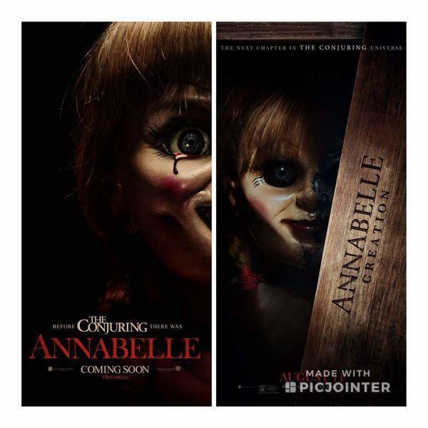 2 phần đầu của Annabelle được ra mắt năm 2014 và 2017.