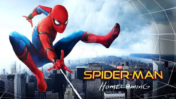 Peter Parker trong tựa phim riêng đầu tiên Spider-Man: Homecoming.