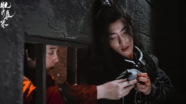 Trần tình lệnh tập 11+12: Nổi da gà với diễn xuất của Tiêu Chiến trong vai Ngụy Vô Tiện ở phân cảnh đối đầu chó dữ ảnh 43