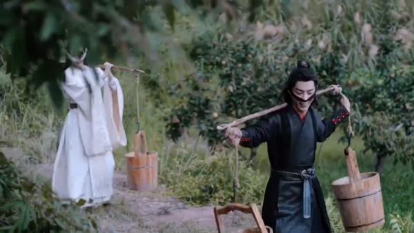 Trần tình lệnh tập 11+12: Nổi da gà với diễn xuất của Tiêu Chiến trong vai Ngụy Vô Tiện ở phân cảnh đối đầu chó dữ ảnh 17