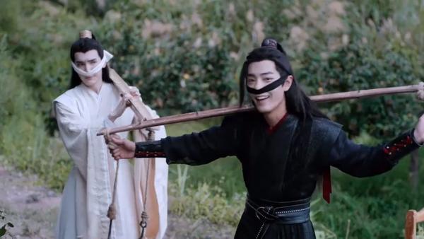 Trần tình lệnh tập 11+12: Nổi da gà với diễn xuất của Tiêu Chiến trong vai Ngụy Vô Tiện ở phân cảnh đối đầu chó dữ ảnh 18