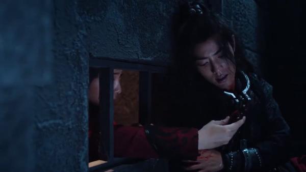 Trần tình lệnh tập 11+12: Nổi da gà với diễn xuất của Tiêu Chiến trong vai Ngụy Vô Tiện ở phân cảnh đối đầu chó dữ ảnh 35