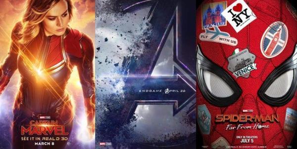 Marvel đã cho ra mắt 3 bom tấn trong năm 2019.