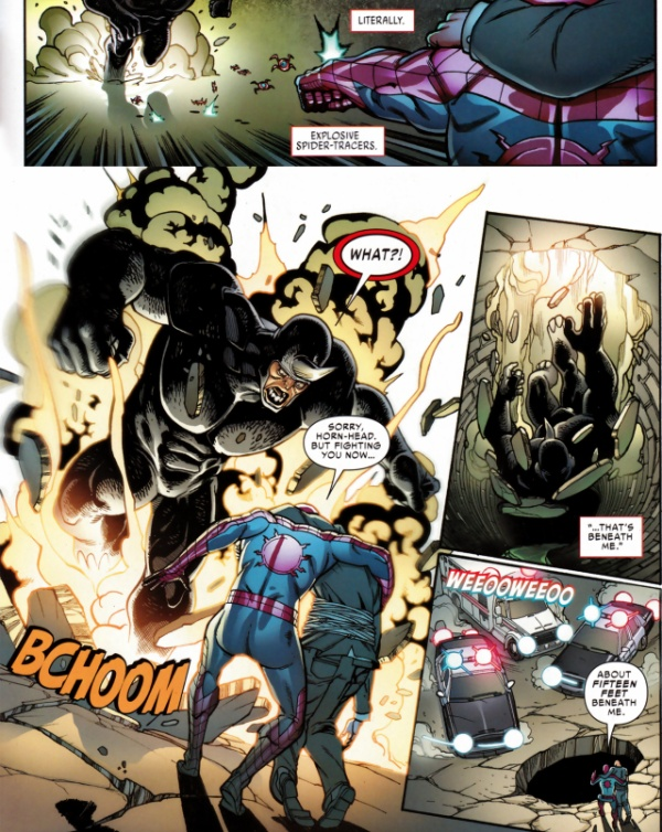 """Spider-Tracers phát nổ, trong """"Free Comic Book Day 2016 Captain America"""""""