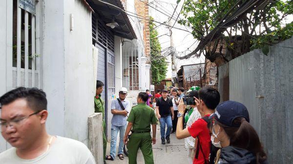 Căn nhà trọ nơi phát hiện thi thể nữ sinh. Ảnh: Nhịp Sống Việt