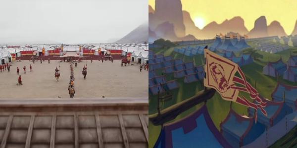 So sánh trailer Mulan live-action 2019 với bản hoạt hình 1998 ảnh 11