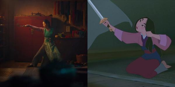So sánh trailer Mulan live-action 2019 với bản hoạt hình 1998 ảnh 7