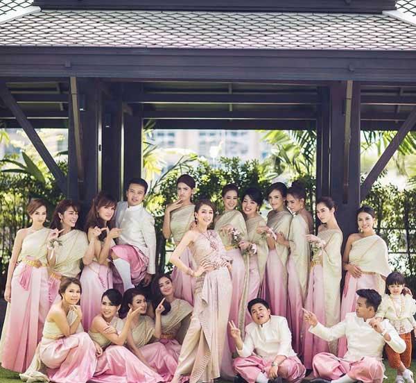 Những lễ cưới lộng lẫy, lung linh và ngập tràn hạnh phúc của sao Thái! ảnh 36