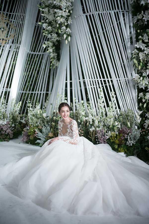 Những lễ cưới lộng lẫy, lung linh và ngập tràn hạnh phúc của sao Thái! ảnh 41