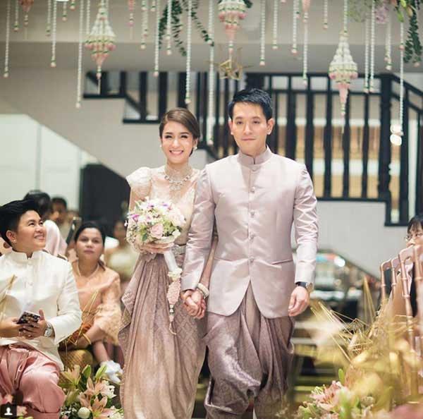 Những lễ cưới lộng lẫy, lung linh và ngập tràn hạnh phúc của sao Thái! ảnh 34