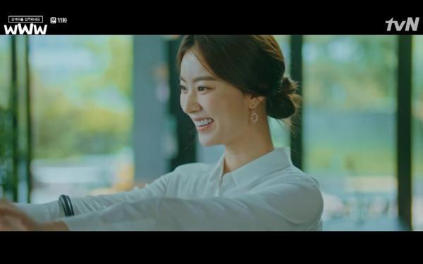 Phim Search: WWW tập 11: Lee Da Hee trở mặt với tiền bối thân thiết để về phe Im Soo Jung ảnh 7