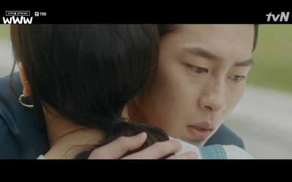 Phim Search: WWW tập 11: Lee Da Hee trở mặt với tiền bối thân thiết để về phe Im Soo Jung ảnh 37