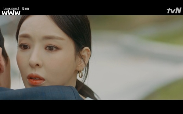 Phim Search: WWW tập 11: Lee Da Hee trở mặt với tiền bối thân thiết để về phe Im Soo Jung ảnh 38