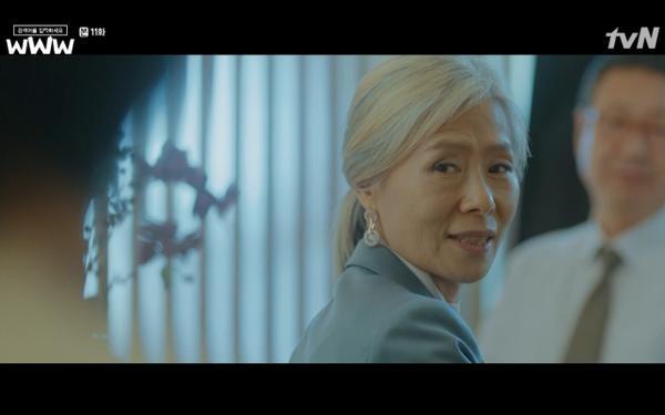Phim Search: WWW tập 11: Lee Da Hee trở mặt với tiền bối thân thiết để về phe Im Soo Jung ảnh 13