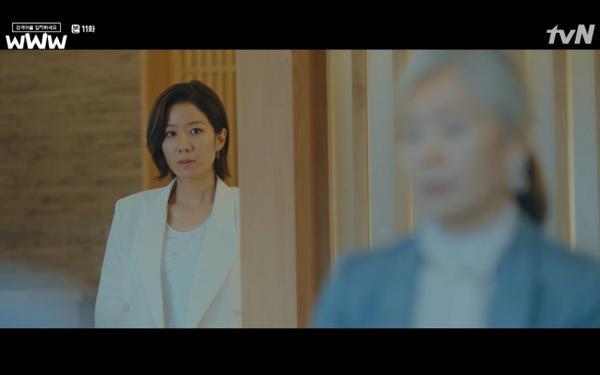 Phim Search: WWW tập 11: Lee Da Hee trở mặt với tiền bối thân thiết để về phe Im Soo Jung ảnh 14