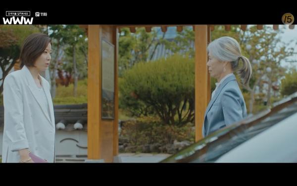 Phim Search: WWW tập 11: Lee Da Hee trở mặt với tiền bối thân thiết để về phe Im Soo Jung ảnh 17