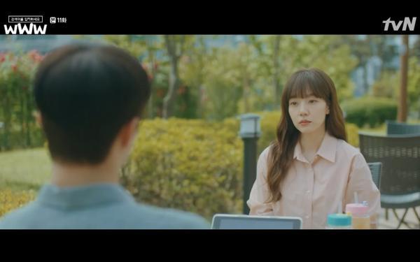 Phim Search: WWW tập 11: Lee Da Hee trở mặt với tiền bối thân thiết để về phe Im Soo Jung ảnh 24