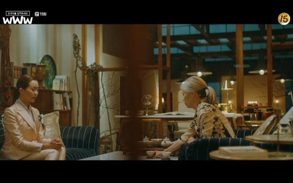 Phim Search: WWW tập 11: Lee Da Hee trở mặt với tiền bối thân thiết để về phe Im Soo Jung ảnh 18