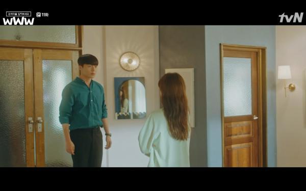 Phim Search: WWW tập 11: Lee Da Hee trở mặt với tiền bối thân thiết để về phe Im Soo Jung ảnh 27