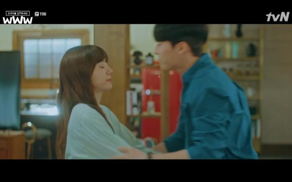 Phim Search: WWW tập 11: Lee Da Hee trở mặt với tiền bối thân thiết để về phe Im Soo Jung ảnh 32