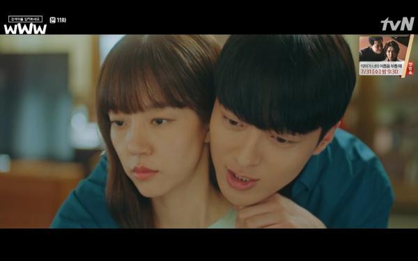 Phim Search: WWW tập 11: Lee Da Hee trở mặt với tiền bối thân thiết để về phe Im Soo Jung ảnh 33