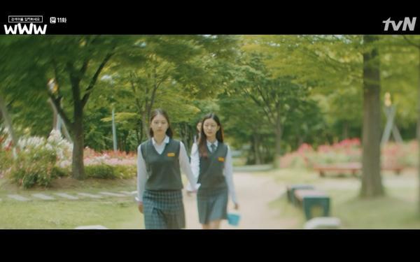 Phim Search: WWW tập 11: Lee Da Hee trở mặt với tiền bối thân thiết để về phe Im Soo Jung ảnh 61